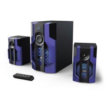 Тонколони Hama Urage SoundZ Evolution(113765), 2.1, RMS 80W, Bluetooth, USB, SD Card, черни image