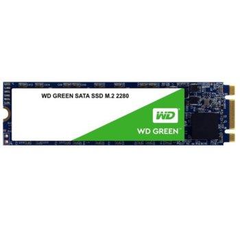 Памет SSD 480GB WD Green, SATA 6Gb/s, M.2 (2280), скорост на четене 545MB/s image