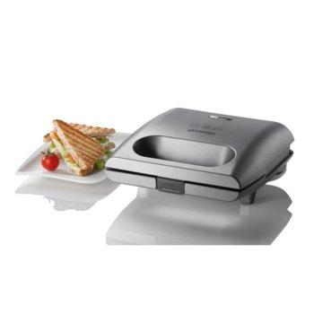 Сандвич скара Gorenje SM703GCG, 700 W, до 4 сандвича, черен image