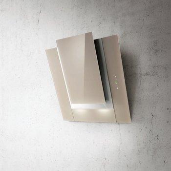 Абсорбатор Elica ICO Sand F/80 709370, свободностоящ, дизайнерски, енергиен клас A, 305W, въздухопоток 801 m3/h, 1 мотор, дизайнерски, светло кафяв image
