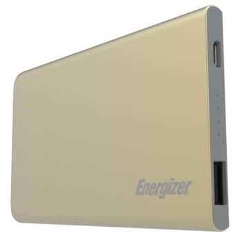 Външна батерия/power bank/ Energizer HighTech (UE4002_GD), 4 000mAh, златиста, 1x USB-A, 1x Micro USB image