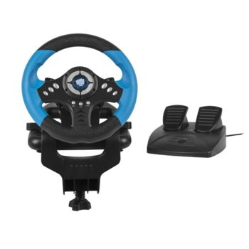 Волан с педали Fury Racing Wheel SKIPPER NFK-1327 - PC image