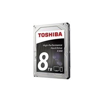 Toshiba 8TB X300 7200rpm/128MB bulk product