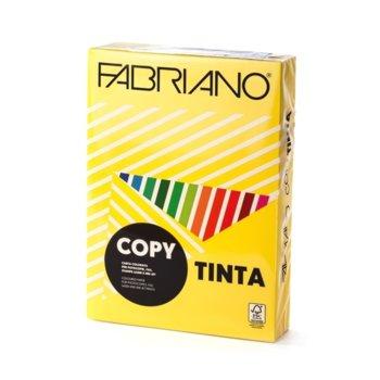Копирна хартия Fabriano Copy Tinta, A4, 80 g/m2, жълта, 500 листа image