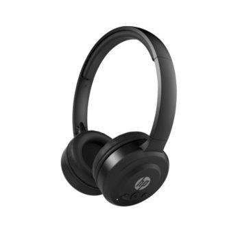 Слушалки HP Pavilion 600, безжични, микрофон, 12 часа работа, черни image