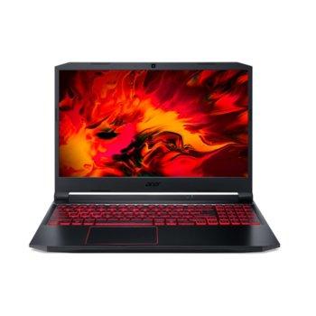 "Лаптоп Acer Nitro 5 AN515-55 (NH.Q7PEX.004-16GB-1512GB), четириядрен Comet Lake Intel Core i7-10750H 2.6/5.0 GHz, 15.6"" (39.62 cm) Full HD IPS 144Hz Anti-Glare Display & GF GTX1650 4GB, (HDMI), 16GB DDR4, 512GB SSD & 1TB HDD, No OS  image"