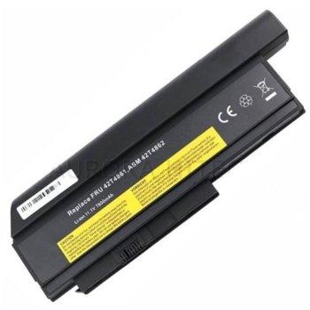 Батерия (заместител) за лаптоп Lenovo ThinkPad, съвместима с X220/X220i/X220s, 11.1V, 7800mAh, 9 cell image