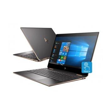 "Лаптоп HP Spectre x360 15-df0025na (5QX29EA) с подарък куфар HP, четириядрен Whiskey Lake Intel Core i7-8565U 1.8/4.6 GHz, 15.6"" (39.62 cm) 4K/UHD IPS Touchscreen Display & GF MX150 2GB, 16GB DDR4, 512GB SSD, Windows 10 Home image"
