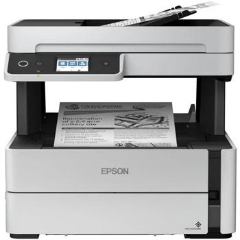 Мултифункционално мастиленоструйно Epson EcoTank M3170, монохромен принтер/копир/скенер/факс, 1200 x 2400 dpi, 39 стр/мин, LAN1000, Wi-Fi, USB, А4 image