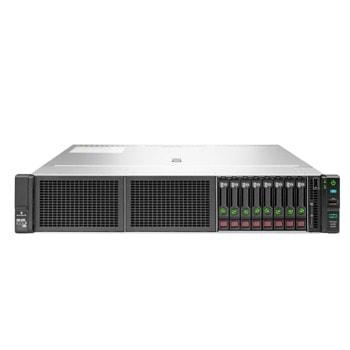 Сървър HPE ProLiant DL180 G10 (P37151-B21), осемядрен Cascade Lake Intel Xeon Silver 4208 2.1/3.2 GHz, 16GB DDR4 RDIMM, без твърд диск, 2x 1GbE, 4x USB 3.0, 1x 500W PSU image