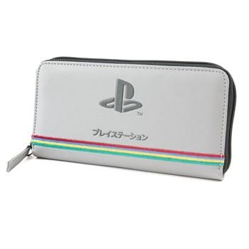 Портмоне PlayStation 25th Anniversary, еко кожа, сиво image