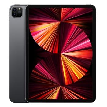 """Таблет Apple iPad Pro Wi-Fi + Cellular (MHW53HC/A)(сив) 5G, 11"""" (27.94 cm) Liquid Retina дисплей, осемядрен Apple A12Z Bionic, 8GB RAM, 128GB Flash памет, 12.0 + 10.0 MPix & 12.0 MPix камера, iPad OS, 468g image"""