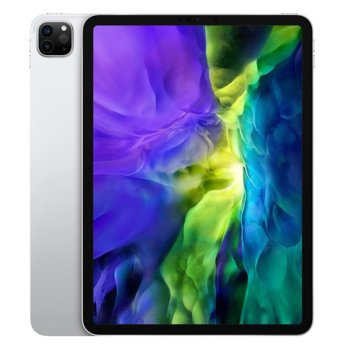 "Таблет Apple iPad Pro (2nd Generation)(MXE92HC/A)(сребрист) 4G/LTE, 11"" (27.94 cm) Liquid Retina дисплей, осемядрен Apple A12Z Bionic, 6GB RAM, 1ТB Flash памет, 12.0 + 10.0 MPix & 7.0 MPix камера, iPad OS, 473g  image"