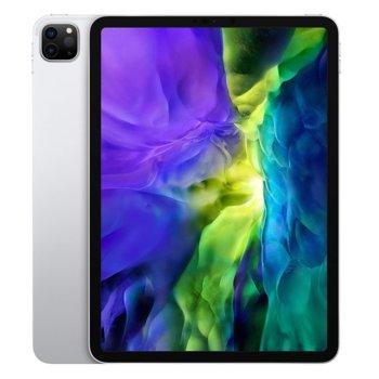 """Таблет Apple iPad Pro (2nd Generation)(MXE92HC/A)(сребрист) 4G/LTE, 11"""" (27.94 cm) Liquid Retina дисплей, осемядрен Apple A12Z Bionic, 6GB RAM, 1ТB Flash памет, 12.0 + 10.0 MPix & 7.0 MPix камера, iPad OS, 473g image"""