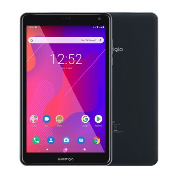 "Таблет Prestigio Q PRO PMT4238 (PMT4238_4G_D_RD)(сив), четириядрен Spreadtrum SC9832E 1.40GHz, 8"" (20.32 cm) IPS дисплей, 2GB RAM, 16GB Flash памет (+microSD слот), 2.0 & 0.3, MPix камера, Android, 351g image"