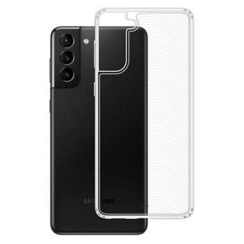 Калъф за Samsung Galaxy S21, термополиуретанов, 3MK Clear Case 3M002151, прозрачен image
