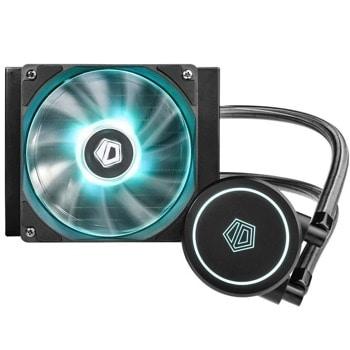 Водно охлаждане за процесор ID-Cooling AURAFLOW-X-120, съвместимост със сокети Intel LGA 1200/115X/2066/2011/1366 & AMD TR4/AM4/FM2+/FM2/FM1/AM3+/AM3/AM2+/AM2 image