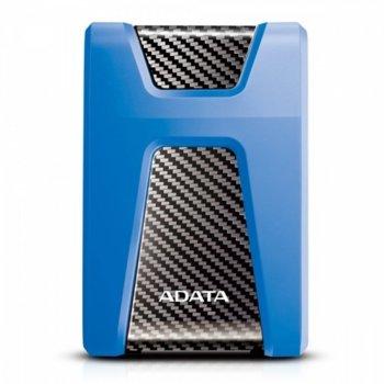 """Твърд диск 1 TB A-Data HD650(син), външен, 2.5""""(6.35 см),USB 3.1 image"""