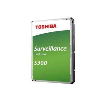 """Твърд диск 5TB Toshiba S300, SATA 6Gb/s, 5400 rpm, 128MB, 3.5"""" (8.89cm), Bulk image"""