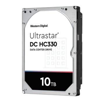 Твърд диск 10TB Western Digital Ultrastar DC HC330 512e, SATA 6GB/s, 7200 rpm, 256MB кеш, 3.5 (8.89cm) image