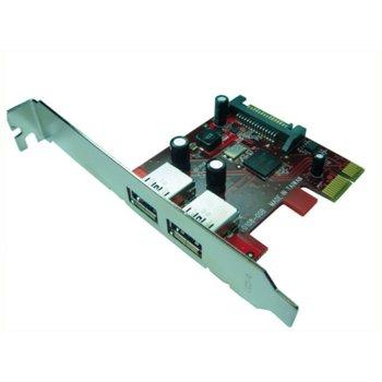 Контролер Roline 15.06.2113, от PCI Express към 2х USB 3.0 порта, 5.0 Gbit/s ( image