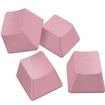 Капачки за механична клавиатура Razer PBT Keycap Upgrade Set (RC21-01490300-R3M1), за ANSI/104 и ISO/105 клавиатури, розови image