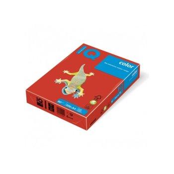 Хартия Mondi IQ Color CO44, A4, 80 g/m2, 500 листа, червена image