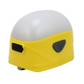 Фенер Nitecore LA30 Bi-fuel, 2x AA или Li-Ion батерия 1800mAh (вградена), 250 lumens, удароустойчив, водоустойчив, за открито, жълта image