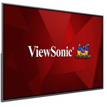 "Публичен дисплей Viewsonic CDE8620, 86"" (218.44 cm) 4K Ultra HD, 2x HDMI, DP, VGA, USB image"
