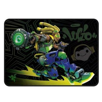 Подложка за мишка Razer Goliathus Medium Speed Overwatch Lucio Edition , гейминг, щампа, 355 x 254 x 4mm image