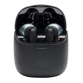Слушалки JBL Tune 220 TWS, безжични, микрофон, до 19 часа време за работа, Bluetooth, бели image