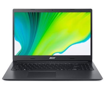 "Лаптоп Acer Aspire 3 A315-56-389G (NX.HS5EX.00R), двуядрен Ice Lake Intel Core i3-1005G1 1.2/3.4 GHz, 15.6"" (39.62 cm) Full HD Anti-Glare Display, (HDMI), 4GB DDR4, 256GB SSD, 1x USB 3.0, Linux image"