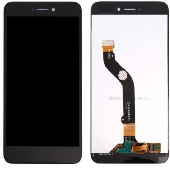 """Дисплей за Huawei Honor 8 Lite 5.2"""" / P8 Lite 2017 / P9 Lite 2017, LCD, с тъч, оригинален, черен image"""