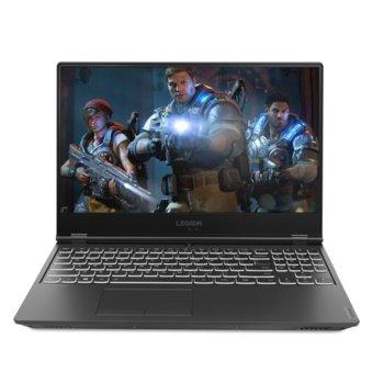 "Лаптоп Lenovo Legion Y540-15IRH (81SX011JBM), шестядрен Coffee Lake Intel Core i7-9750HF 2.6/4.5 GHz, 15.6"" (39.62 cm) Full HD 144Hz Display & GTX 1660 Ti 6GB, (mDP), 8GB DDR4, 1TB SSD, 1x USB-C, Free DOS  image"