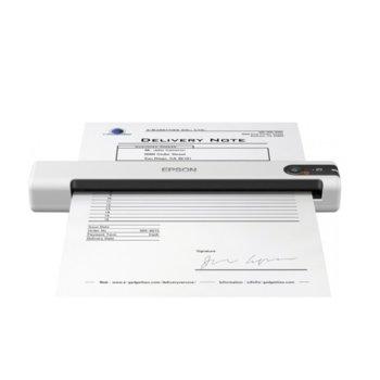 Преносим скенер Epson WorkForce DS-70, 600 x 600 dpi, A4, USB, бял  image