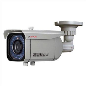 """AHD камера CPPLUS CP-VCG-T13FL5, насочена (""""bullet"""") камера, 1.3Mpix HD 720p, 25 кад./сек., 2.8-12mm обектив, IR осветителност (до 50 метра), външна, вандалозащитена image"""
