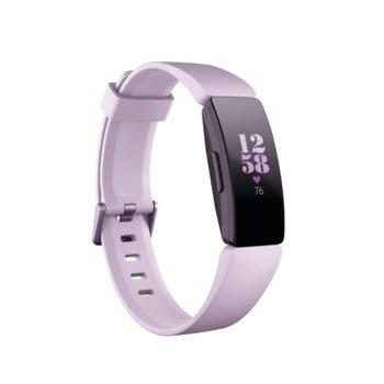 Смарт гривна Fitbit Inspire HR, акселерометър, oптичен пулсомер, до 5 дни време на работа, Bluetooth 4.0, лилава image