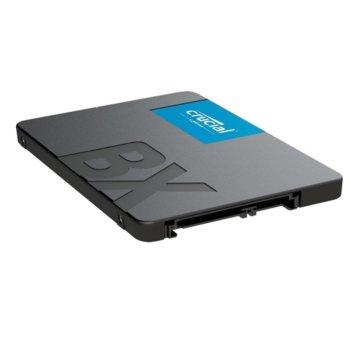 """Памет SSD 240GB Crucial BX500, SATA 6Gb/s, 2.5"""" (6.35 cm), скорост на четене 540 MB/s, скорост на запис 500 MB/s image"""