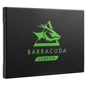 """Памет SSD 1TB, Seagate BarraCuda 120 (ZA1000CM1A003), SATA3 6GB/s, 2.5""""(6.35 cm), скорост на четене 560 MB/s, скорост на запис 540 MB/s image"""
