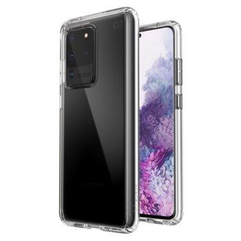 Калъф за Samsung Galaxy S20 Ultra, хибриден, Speck Presidio Perfect Clear 136383-5085, удароустойчив, прозрачен image