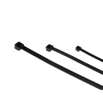 Hama Кабелни връзки, 150 бр 3 размера черен product