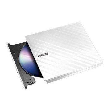 Оптично устройство Asus SDRW-08D2S-U LITE, външна, USB 2.0, бяла image