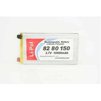 Литиева батерия LP8280150, 3.7V, 1000mAh, Li-polymer, 1бр. image
