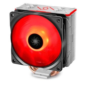 Охлаждане за процесор DeepCool GAMMAXX GT- RGB Aura Sync, съвместимост с Intel 2066 / 2011-v3 / 2011 / 1366 / 1156 / 1155 / 1151 / 1150, AMD AM4 / AM3+ / AM3 / AM2+ / AM2 / FM2+ / FM2 / FM1 image