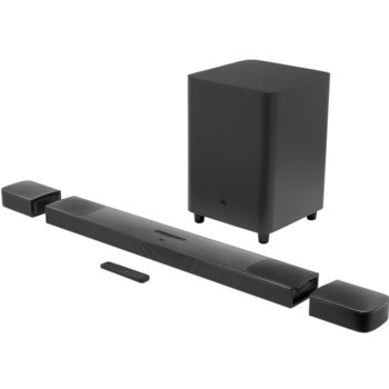 Soundbar система JBL Bar 91 3D, 5.1.4, Bluetooth, Wi-Fi, HDMI, USB, черен image