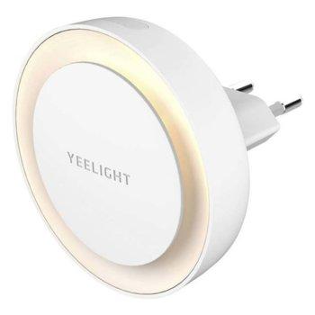 LED смарт лампа Xiaomi Yeelight Plug-in Sensor Nightlight (YLYD11YL), автоматичен сензор за включване/изключване, 0.4W, 800lm, 2700K цветна температура image