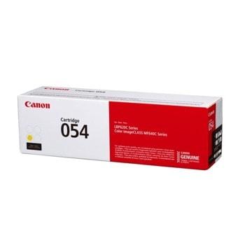 Тонер касета за Canon LBP62x series, MF64x series, Yellow, - CRG-054 Y - Canon - Заб.: 1200 k image