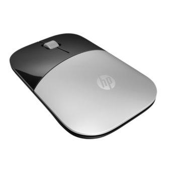 Мишка HP Z3700, оптична (1200 dpi), безжична, USB, сребриста, нископрофилен дизайн image