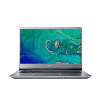 "Лаптоп Acer Swift 3 SF314-54-P6LU (NX.GXZEX.045)(сребрист), двуядрен Kaby Lake R Intel Pentium 4417U 2.30 GHz, 14"" (35.56 cm) Full HD IPS Anti-Glare Display, (HDMI), 4GB, 256GB SSD, 1x USB 3.1 Type C, Linux image"