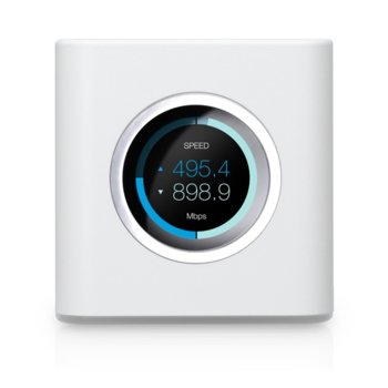 Рутер Ubiquiti AmpliFi MESH, 1750 Mbps, 2.4GHz (450 Mbps)/ 5GHz (1300 Mbps), Wireless AC, 4x 10/100/1000Mbps, 1x вградена Dual-Band антена image